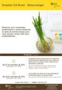 Flyer - Simpósio Biotecnologia
